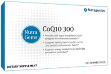 NutraGems CoQ10 for Irregular Heartbeat, Shortness of breath, Increased energy