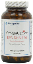 OmegaGenics EPA-DHA 720 -Natural Lemon Flavor