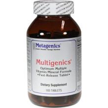 Multigenics - 180 Tablets Multivitamin