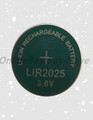 2 pcs LIR2025 bulk Rechargeable battery CR2025 2025 DL2025 DL20256B ECR2025 KCR2025 BR2025 BR2025-1W CR2025-1W L12