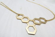 [Sample] Gold Statement Necklace