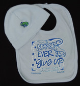 Never Ever Give Up Fleece Hat Set
