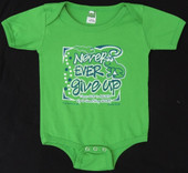 Never Give Up Onesie