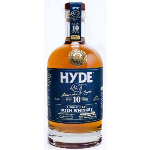 Hyde 10 Year Old Sherry Cask Finish Single Malt Irish Whiskey 750ml