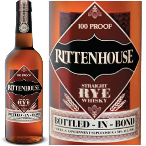 Rittenhouse Straight Rye Whiskey 750ml
