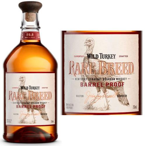 Wild Turkey Rare Breed Barrel Proof Kentucky Straight Bourbon 750ml