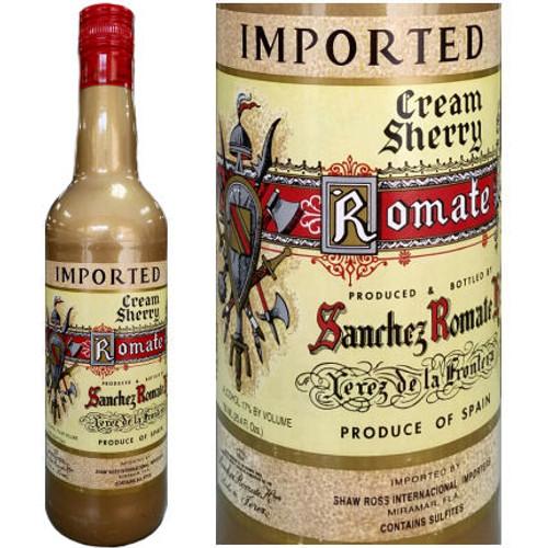 Sanchez Romate Jerez Romate Cream Sherry