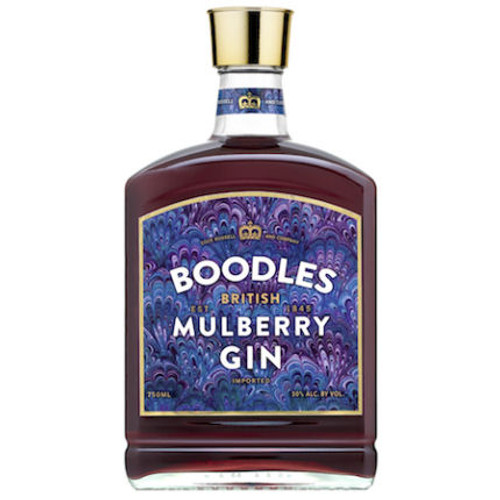 Boodles British Mulberry Gin 750ml