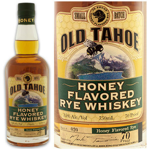 Old Tahoe Premium Honey Flavored Rye Whiskey 750ml