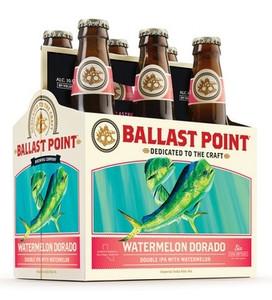 Ballast Point Watermelon Dorado Double IPA 12oz 6 Pack