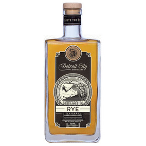 Detroit City Homegrown Rye Whiskey 750ml