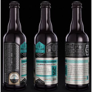 Bottle Logic Lagerithm American Dark Lager 22oz
