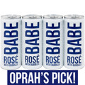 Babe Rose With Bubbles 4-Pack 250ml Can