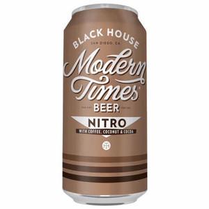 Modern Times Nitro Black House Stout 16oz 4 Pack