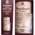 Mackillop's Choice Benrinnes 1988 Single Cask Malt Scotch 750ml
