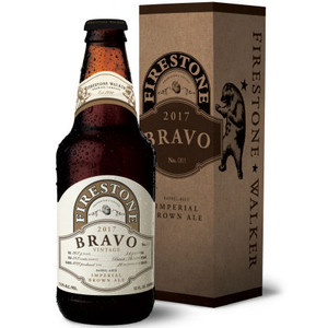 Firestone Bravo Imperial Brown Ale 2017 12oz