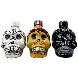 50ml Mini Kah Day of the Dead Tequila 3 Bottle Collector's Set