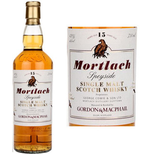 Gordon & Macphail Mortlach 15 Year Old Speyside Single Malt Scotch 750ml