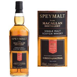 Gordon & Macphail Speymalt From Macallan Single Malt Scotch 1998 750ml