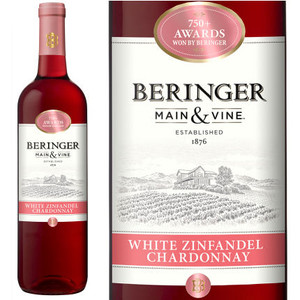Beringer PVS White Zin/Chardonnay