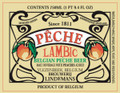 Lindemans Peche Lambic (Belgium) 25OZ