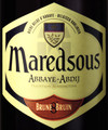 Maredsous Dark Abbey Belgian Ale 8 (Belgium) 750ml