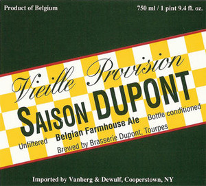 Saison Dupont Belgian Farmhouse Ale 750ML