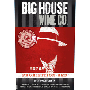 Big House California Red Wine