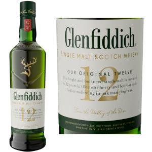 Glenfiddich Signature 12 Year Old Speyside Single Malt Scotch 750ml