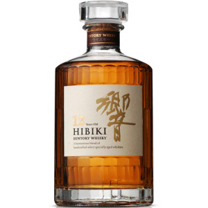 Suntory Hibiki 12 Year Old Japanese Whisky 750ml