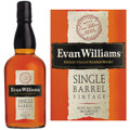 Evan Williams Vintage 2007 Single Barrel Kentucky Straight Bourbon Whiskey 750ml