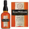 Evan Williams Vintage 2009 Single Barrel Kentucky Straight Bourbon Whiskey 750ml