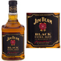 Jim Beam Black Double Aged Bourbon 750ml