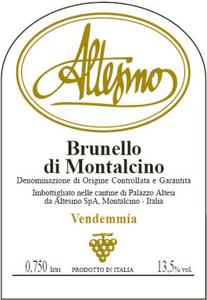 Altesino Brunello di Montalcino DOCG