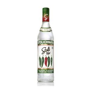 Stolichnaya Hot Jalapeno Flavored Russian Vodka 750ml