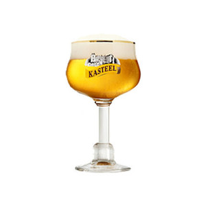Kasteel Belgium Ale Chalice Glass Approx 12oz