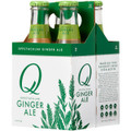 Q Ginger Ale Superior Ginger Ale 6.3oz (187ml) 4-Pack