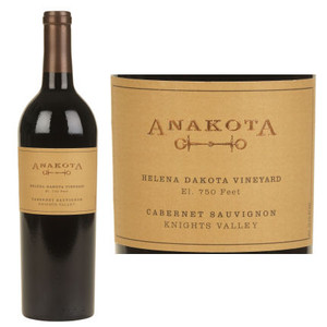 Anakota Helena Dakota Vineyard Cabernet