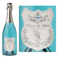 Blanc de Bleu Cuvee Mousseux Sparkling NV 750ml is full and round with smooth flavors and fine persistent bubbles. The extra measure of Chardonnay contributes elegance and austerity