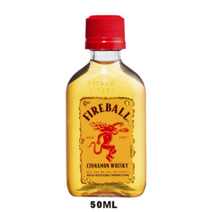 50ml Mini Fireball Cinnamon Whisky