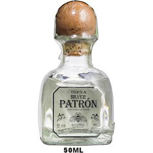 50ml Mini Patron Silver Tequila