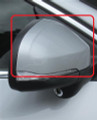 2011-2013 Volvo S60 Side Mirror Cover (Painted Cap)