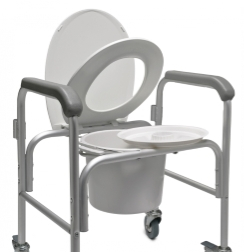 Photo of a bedside commode