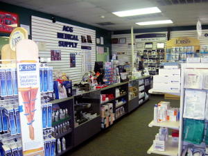 Photo of the ACG Medical Supply Showroom