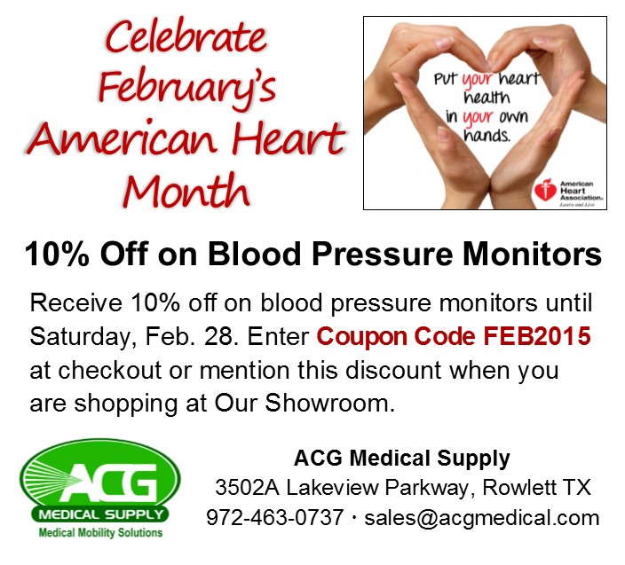 Get 10% Off on Blood Pressure Monitors in Feb 2015
