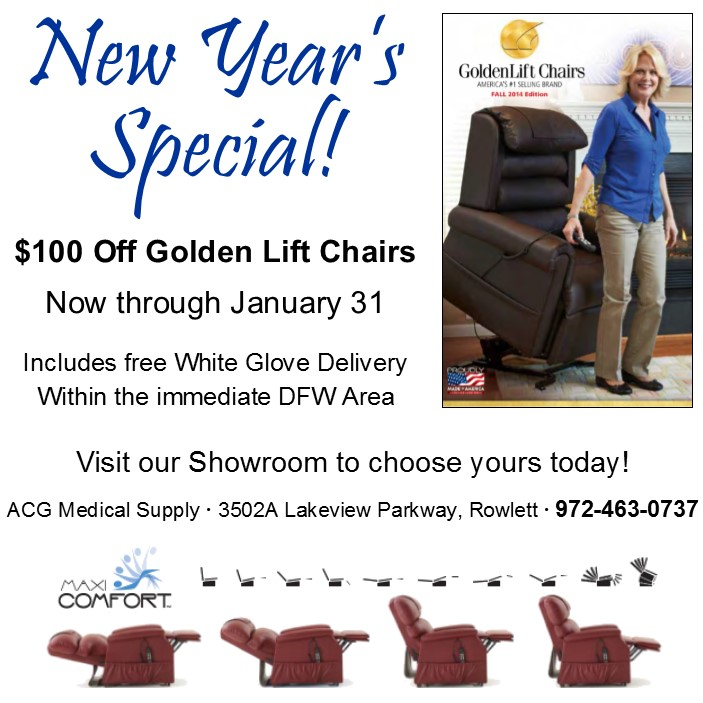 Save 100 Off Golden Lift Chairs in Jan 2015