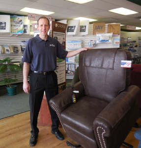 Photo of David Gampher, Owner of ACG Medical Supply