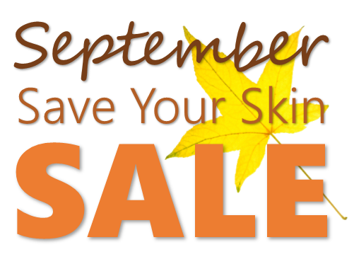 September Save Your Skin Sale