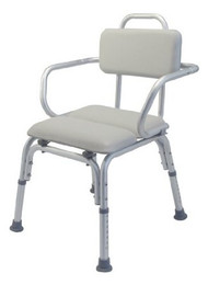 Lumex Platinum Collection Deluxe Padded Bath Seat with Backrest and Support Arms
