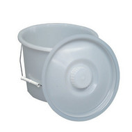 Briggs Healthcare Commode Pail with Lid 12 Quart
